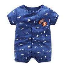 0-24M Baby Boys Cotton Jumpsuit - Baby-Treasure - Everything all about Pregnant and Babys