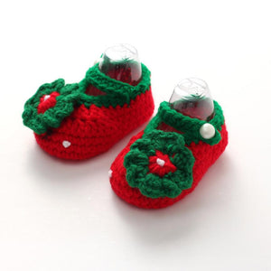 0-12M Baby Crochet Handmade Shoes - Baby-Treasure - Everything all about Pregnant and Babys