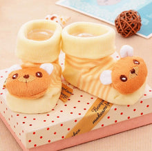 0-18M Cute 3D Cartoon Sock Slipper Shoes - Baby-Treasure - Everything all about Pregnant and Babys