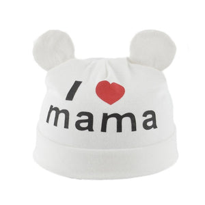 0-24M Cute Baby I Love Mama Hat - Baby-Treasure - Everything all about Pregnant and Babys