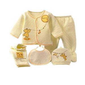 0-3M 5Pcs Amazing Girls Boys Baby Winter Set - Baby-Treasure - Everything all about Pregnant and Babys