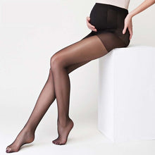 Thin Pregnancy Leggings Pantyhose in brown