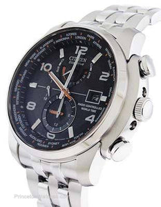 Citizen Men's Eco Drive AT9010-52E Silver Stainless-Steel Eco-Drive Dress Watch