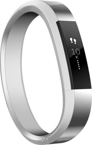 Fitbit - Alta Classic Metal Accessory Bracelet for Fitbit Alta Wireless Activity and Sleep Tracker - Small