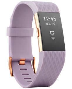 Fitbit Charge 2 **SPECIAL EDITION **Lavender Rose Gold S Activity Tracker