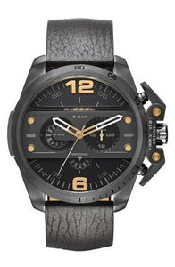 Men's Diesel Ironside Black Chronograph Watch DZ4386