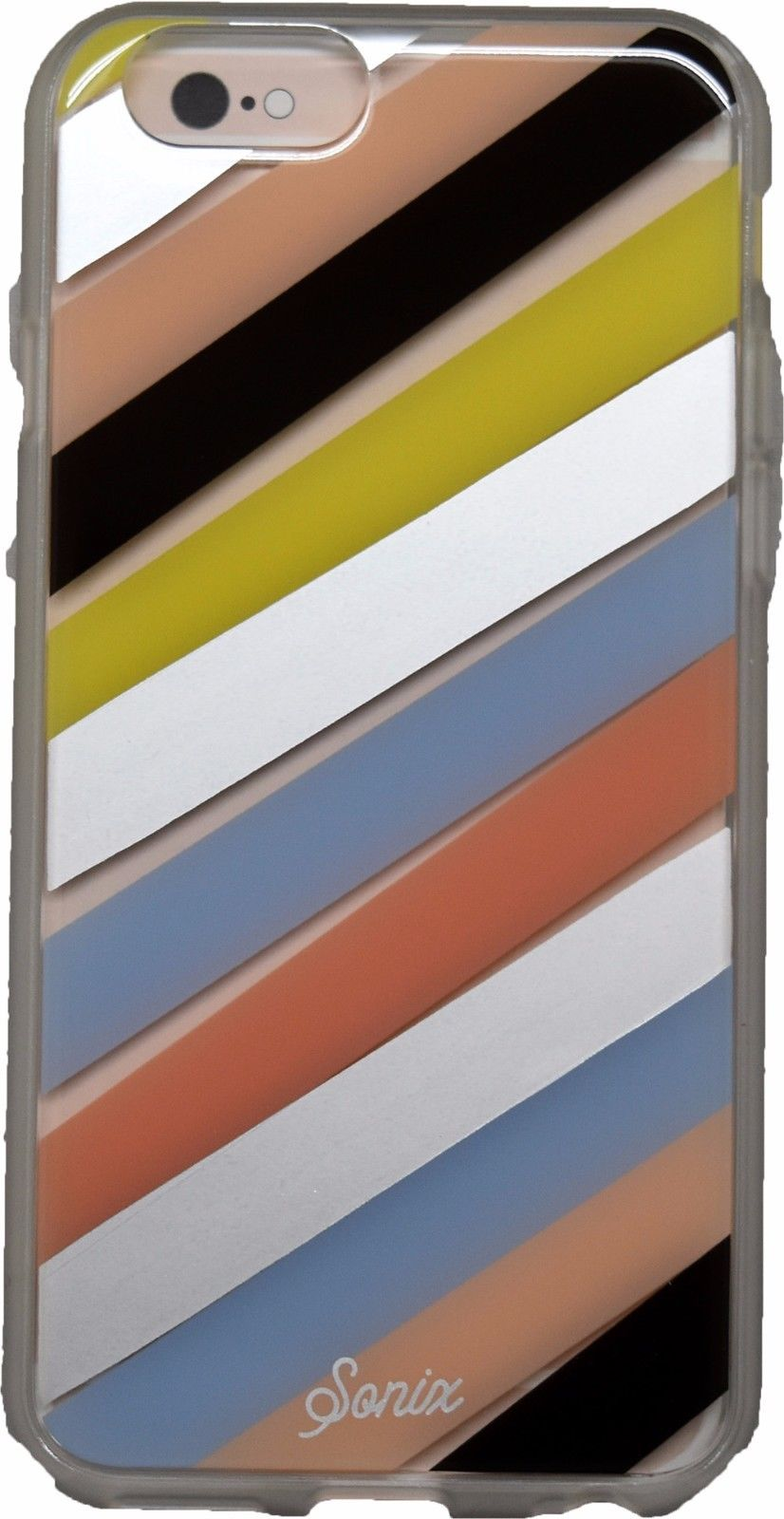 Sonix Iphone 6 6s Checker Stripe Clear Coat Shell Cover Case