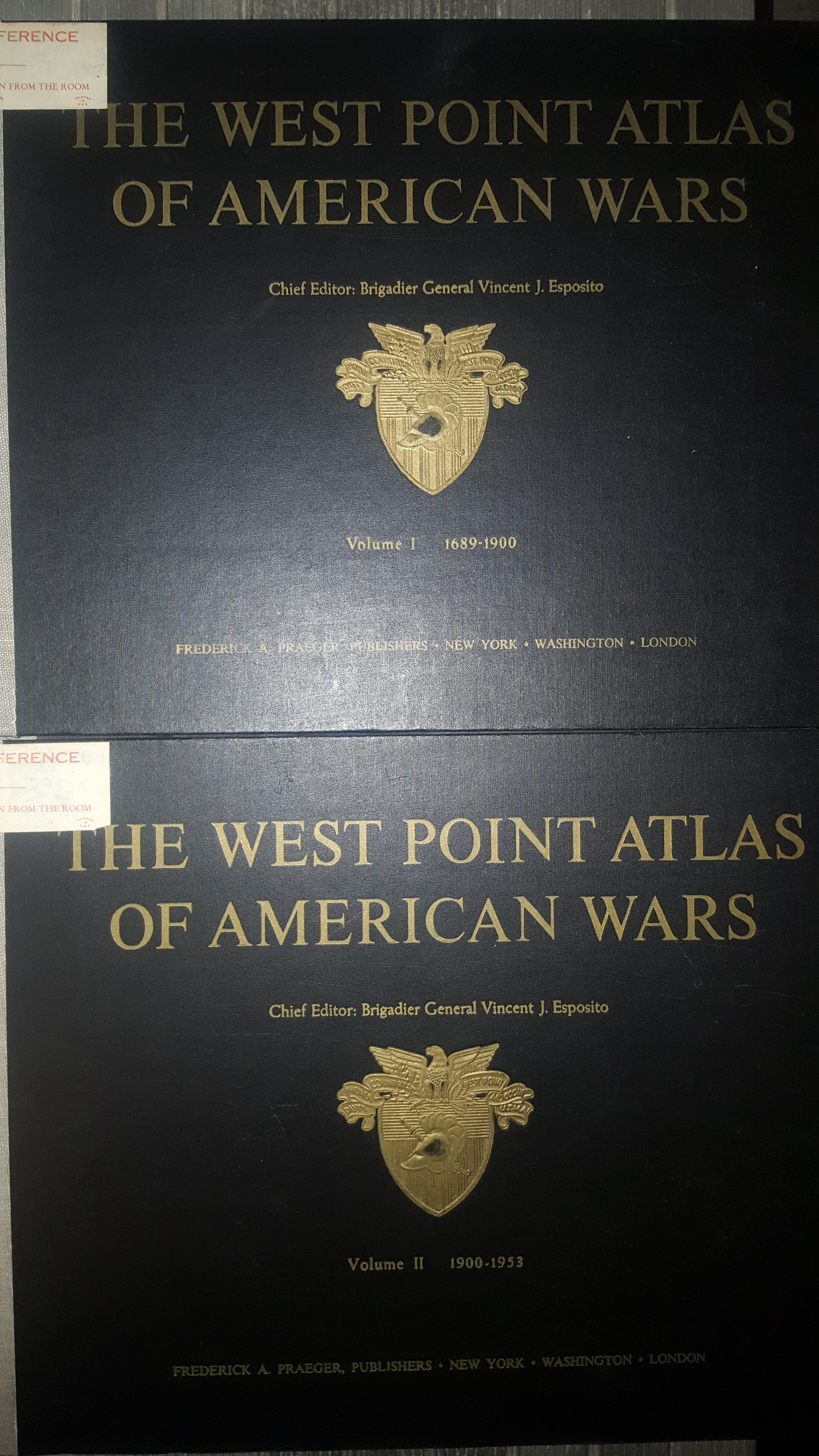 West Point Atlas of American Wars, 1689-1953 Book