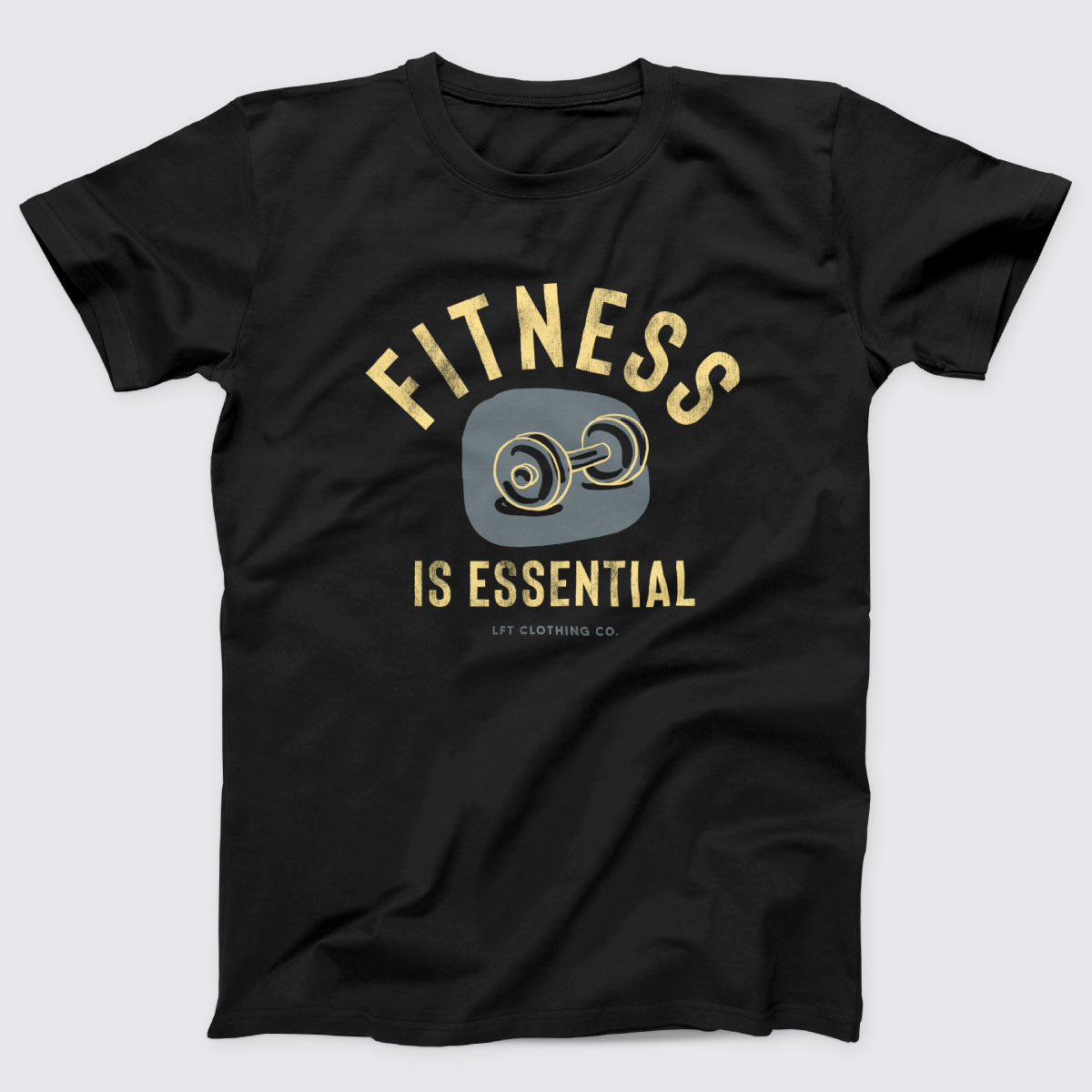 Fitness is Essential Boyfriend Tee