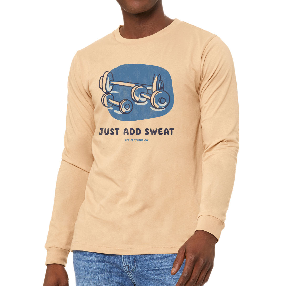 Just Add Sweat Unisex Long-Sleeve Tee