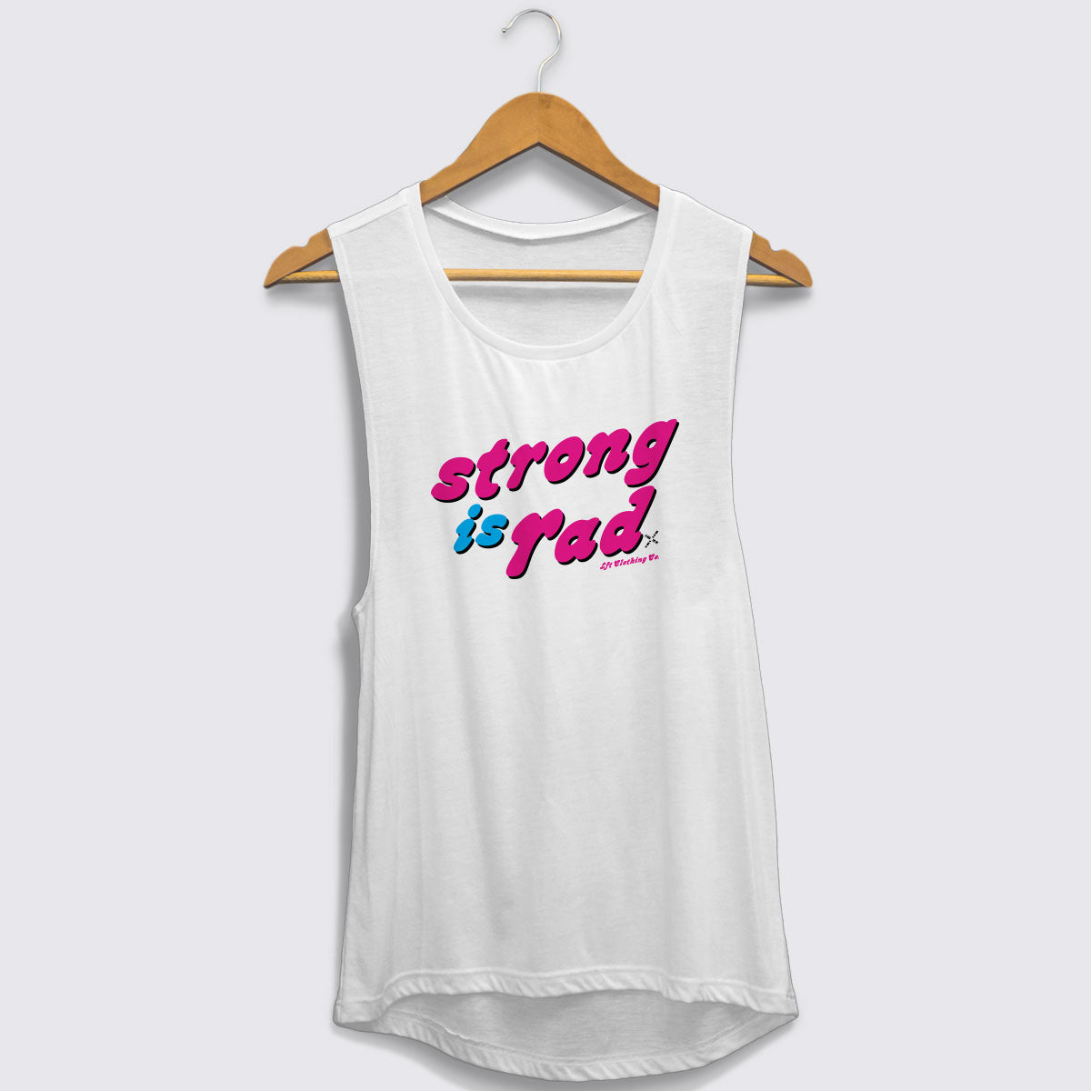 Strong is Rad Muscle Tank