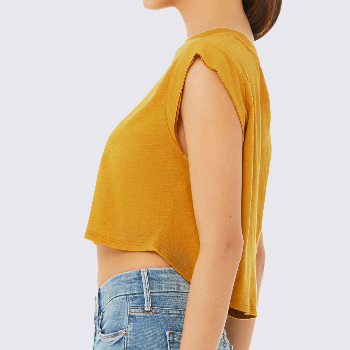 Just Add Sweat Cropped Triblend Tank