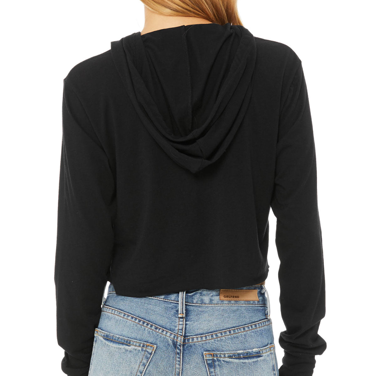 Ciao Cropped Lightweight Hooded Tee