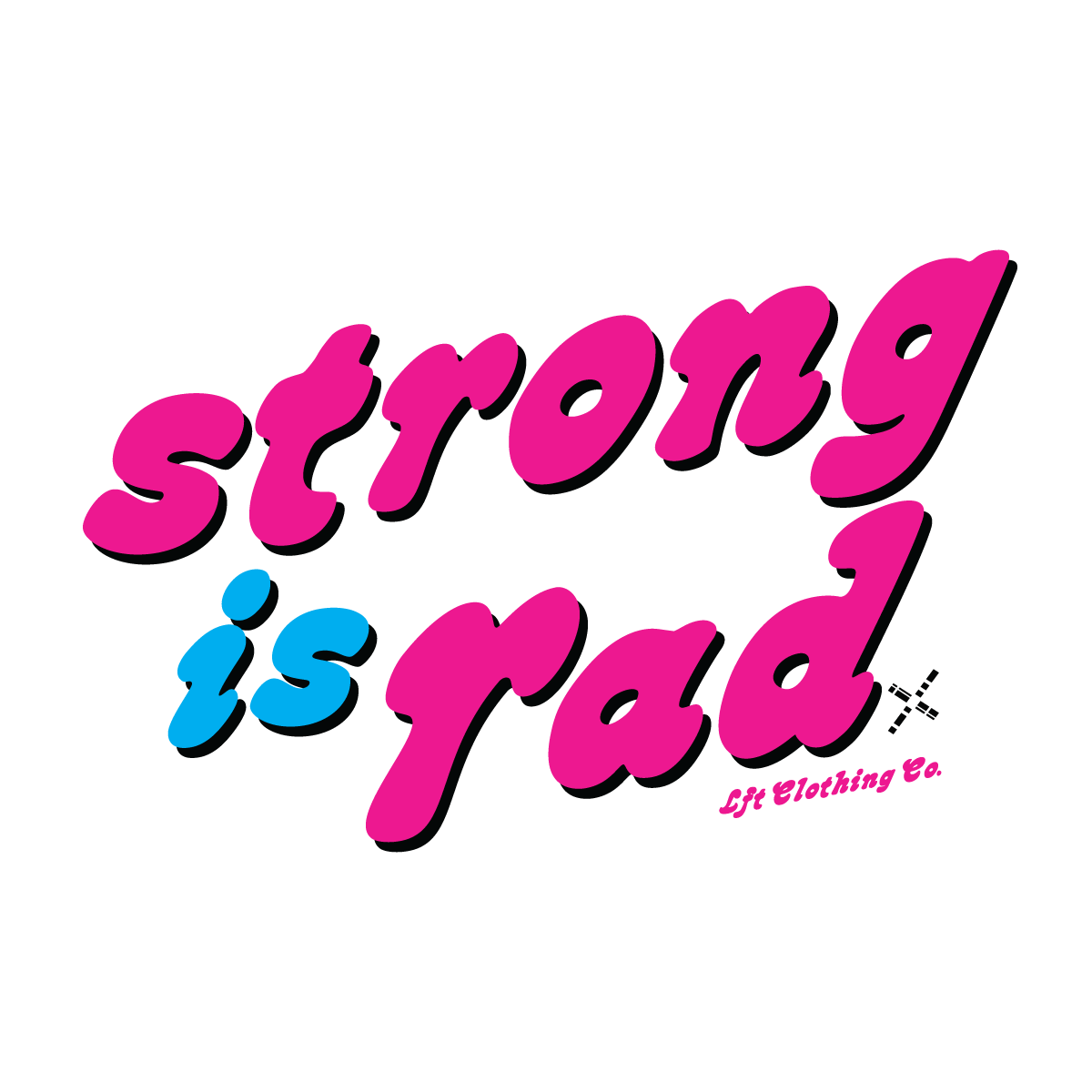 Strong is Rad Classic Racerback Tank