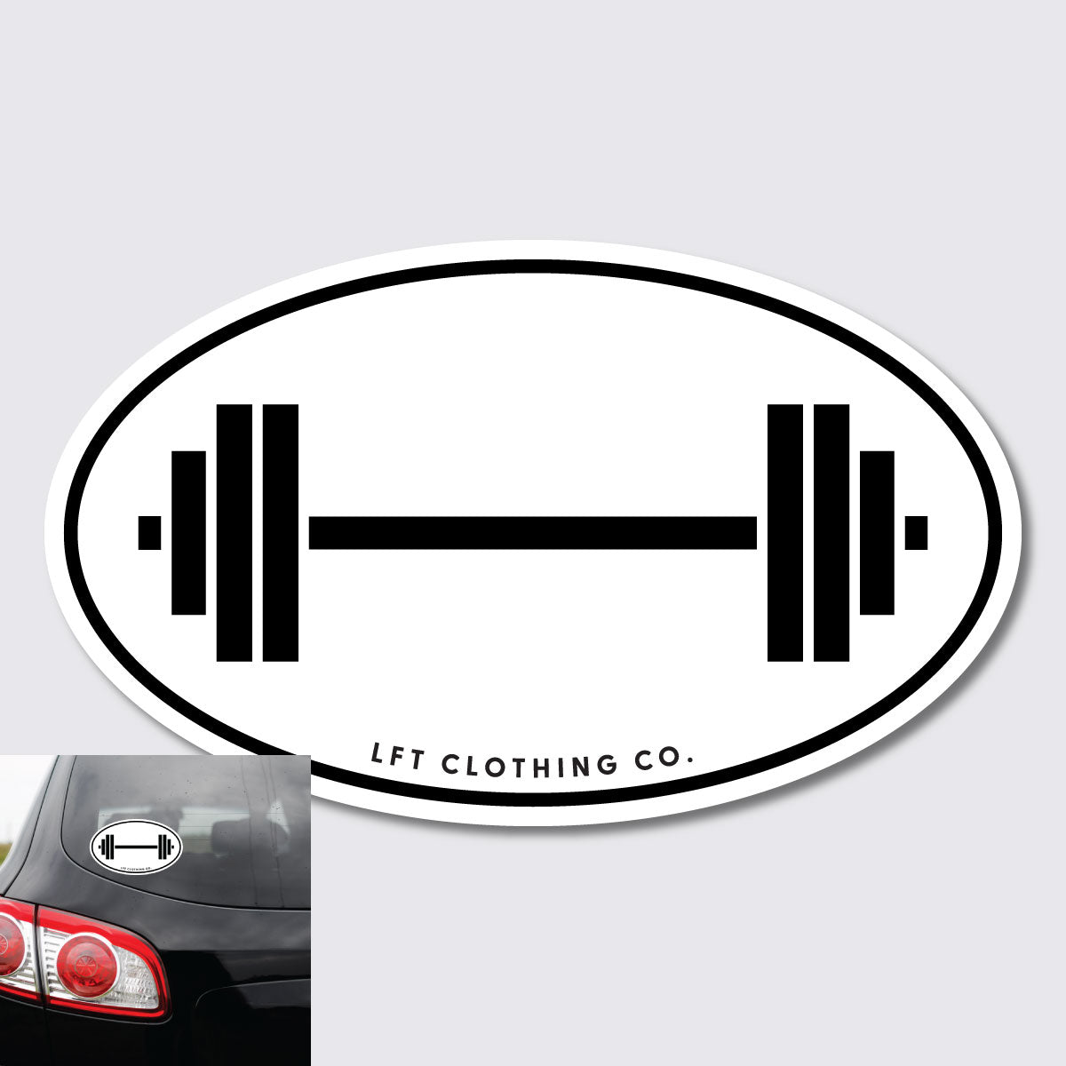 Barbell Sticker