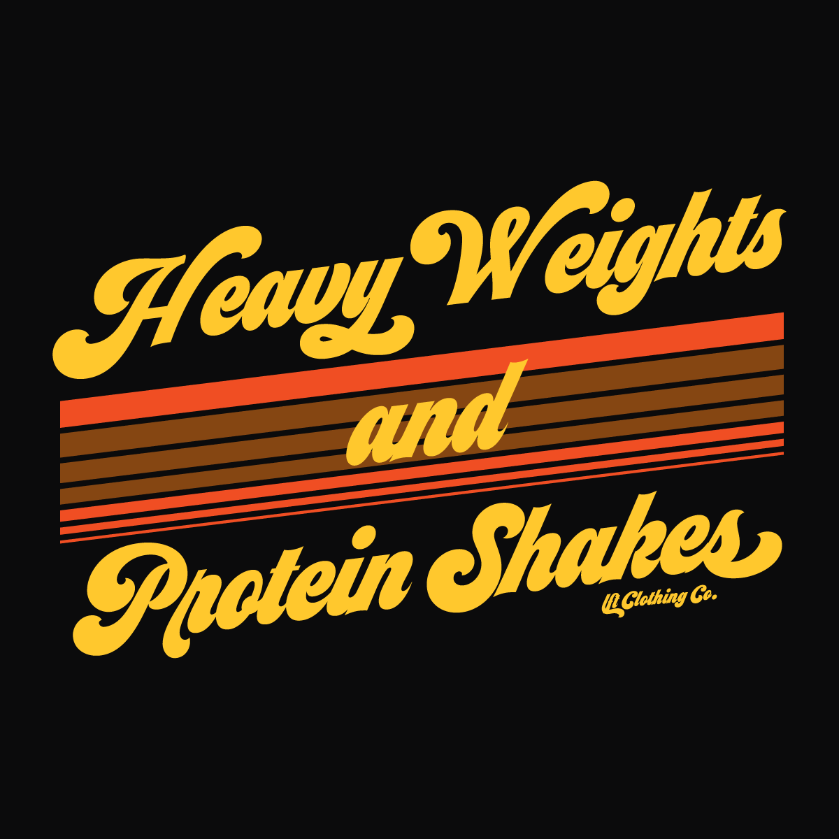 Heavy Weights & Protein Shakes Slim Fit Tee