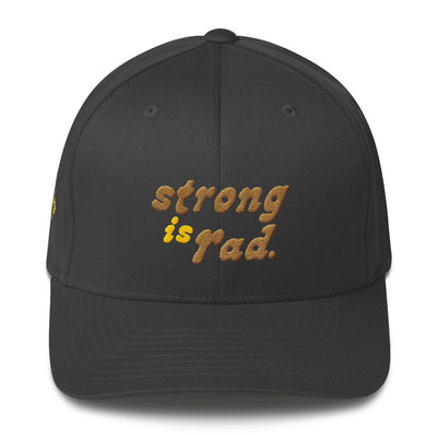 Strong is Rad Flexfit Cap