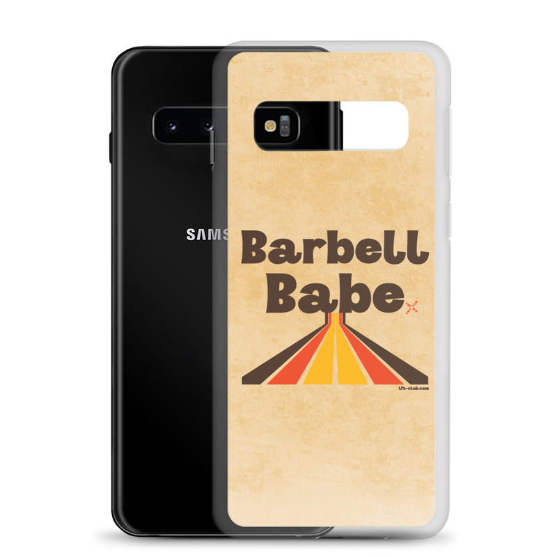 Samsung Case, Barbell Babe