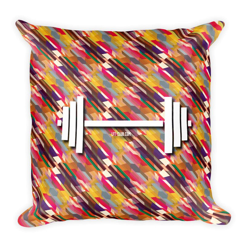 Throw Pillow, Barbell Fiesta