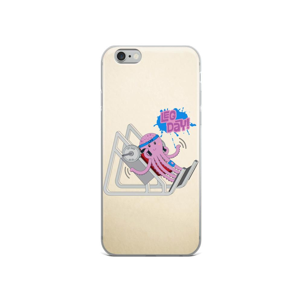 iPhone Case, Octopus Leg Day