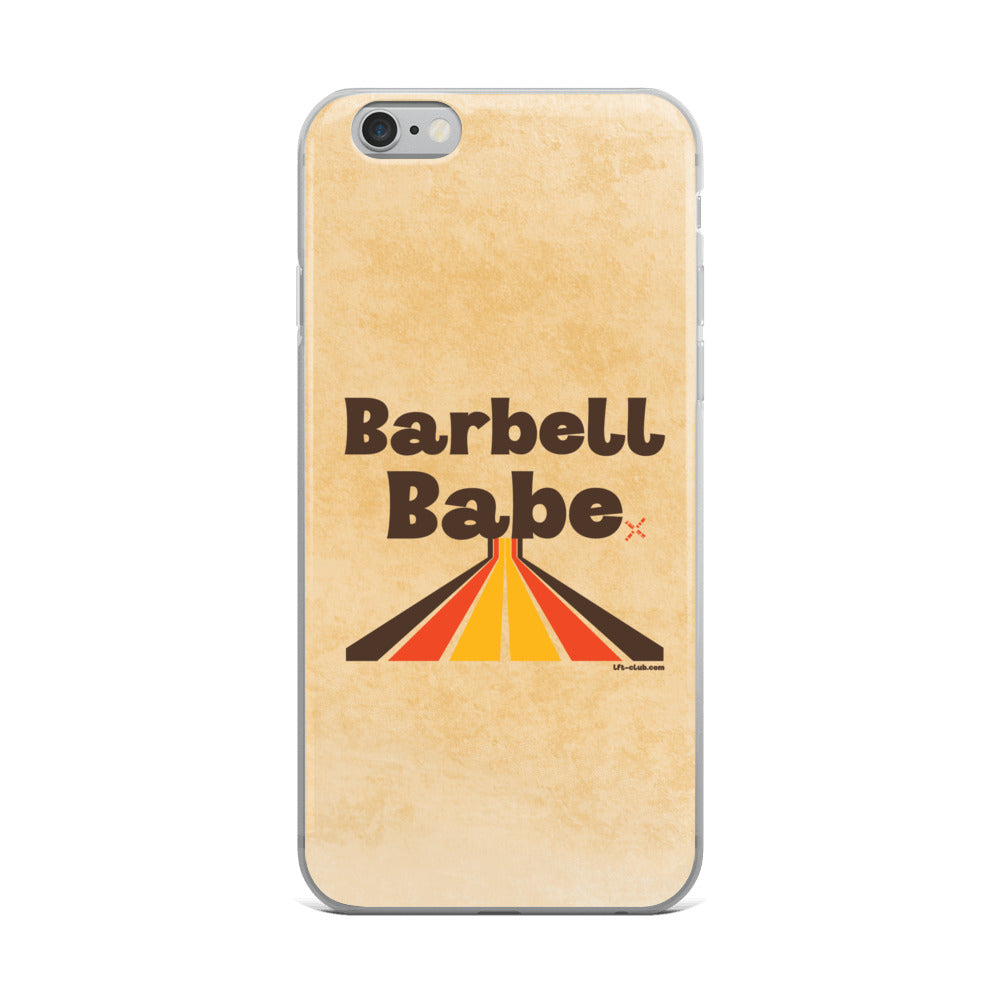 iPhone Case, Barbell Babe