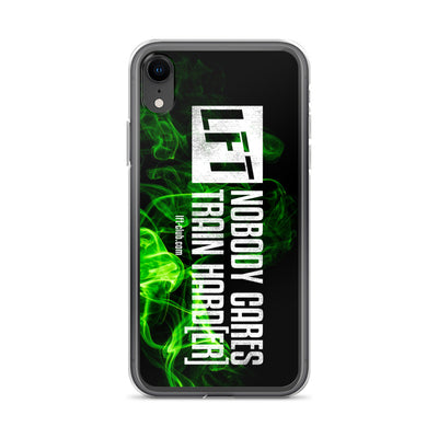iPhone Case, Nobody Cares Train Hard[er]