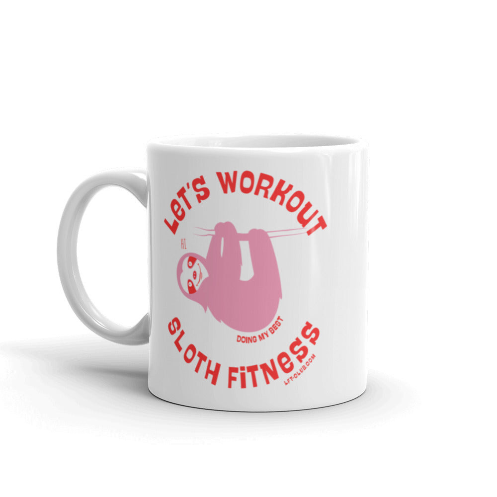 Let's Workout Mug