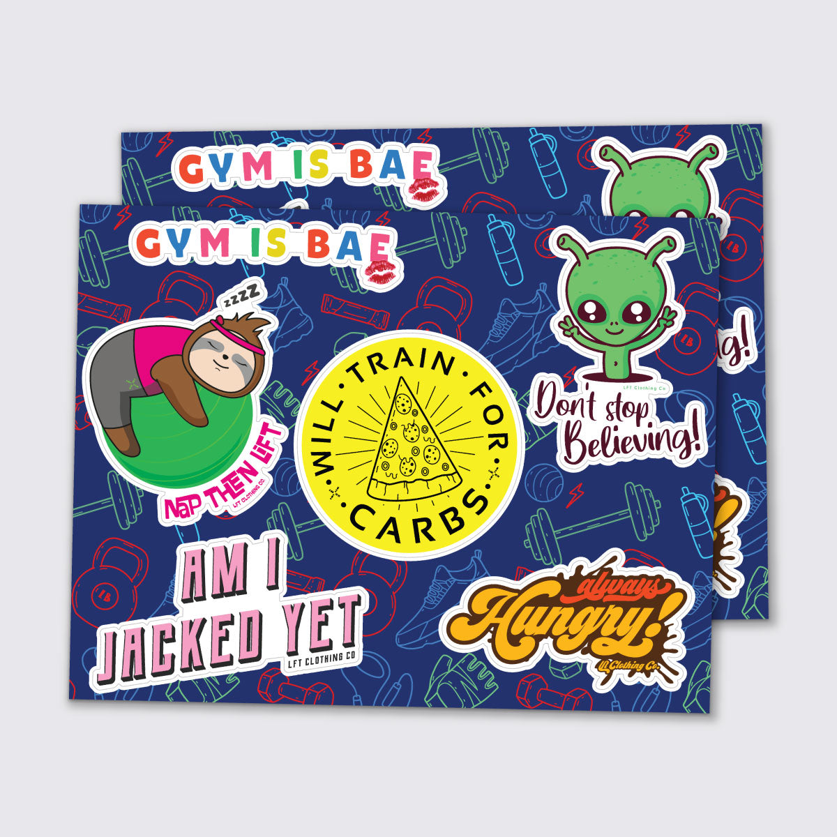 Sticker Sheet, Variety