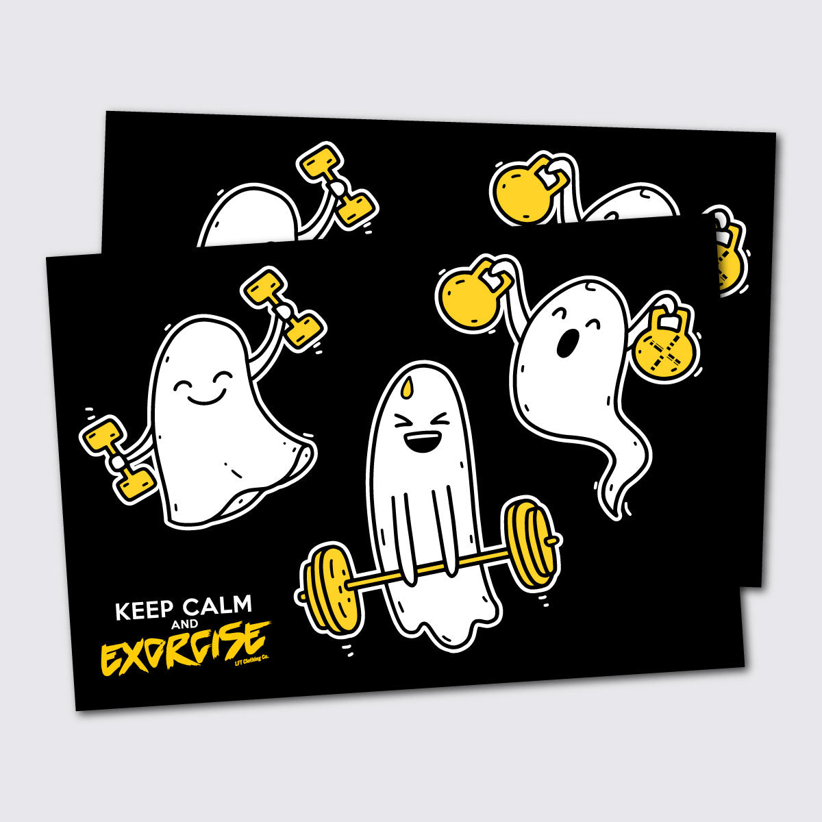 Sticker Sheet, Exorcise