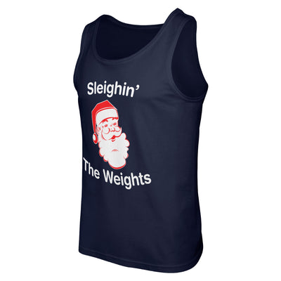 Sleighin' the Weights Tank