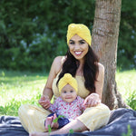 Chemo Headband in Yellow help to Fight Childhood Cancer