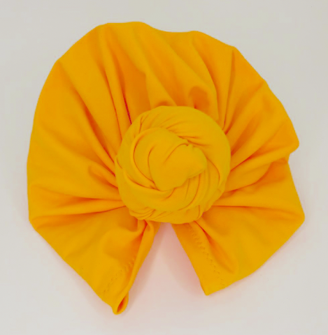 hair turban fashion Butterscotch Double Knot