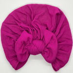 Women's turbans in magenta Little Miss Turban