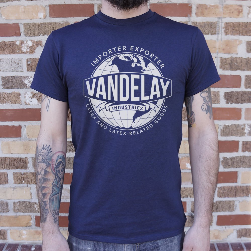 Vandelay Industries Latex And Latex-Related Goods T-Shirt (Mens)