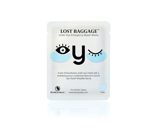 Lost Baggage Under Eye Emergency Repair Mask - Set of 10 - Koreansk sheet mask