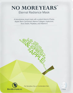 No More Years Eternal Radiance Biocellulose Sheet Mask - sheet mask | Ansiktsmask | Hudvård