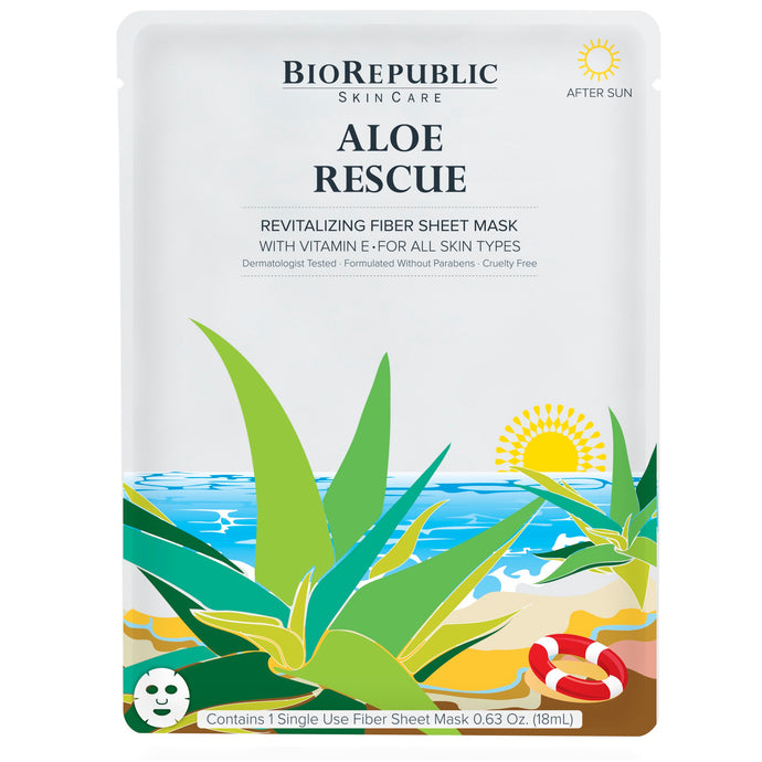 Aloe Rescue Revitalizing Sheet Mask - sheet mask | Ansiktsmask | Hudvård