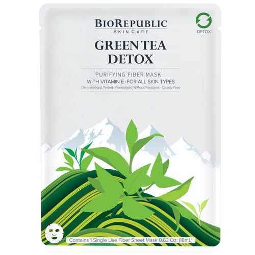 Green Tea Detox Purifying Sheet Mask - sheet mask | Ansiktsmask | Hudvård
