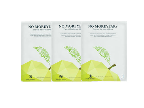 No More Years Eternal Radiance Mask - Set of 3 - sheet mask | Ansiktsmask | Hudvård