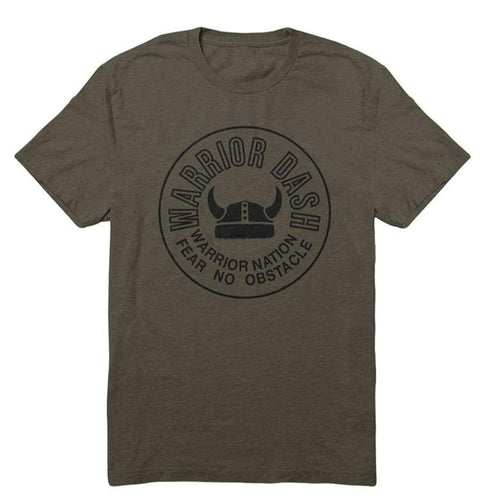 Army Green Helmet Tee