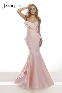 Pink retro gown