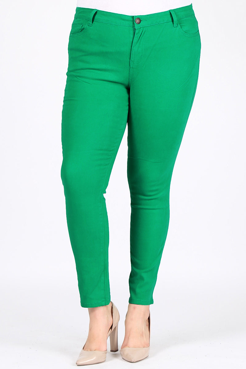 Kelly green pants