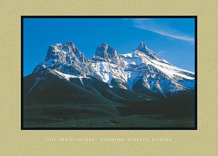 The Three Sisters, Canmore, Alberta, Canada