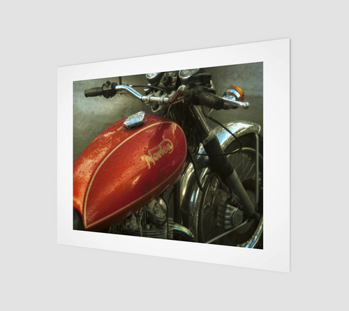 Norton 11x14 Art Print from Engrooved Splash Productions located in British Columbia, Canada.