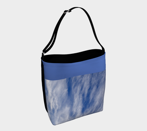 Clouds Tote Bag designed by Engrooved Splash Productions located on the Sunshine Coast of British Columbia in Canada.