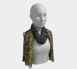 Autumn Grass Scarf designed by Engrooved Splash Productions located in British Columbia, Canada.