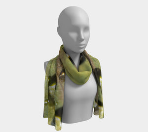 Morning Dew Scarf designed by Engrooved Splash Productions located in British Columbia, Canada.