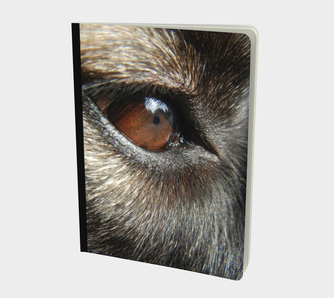 Canine Themed Notebook designed by Engrooved Splash Productions in British Columbia Canada