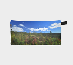 Blue Sky Pencil Case from Engrooved Splash Productions located in British Columbia, Canada.