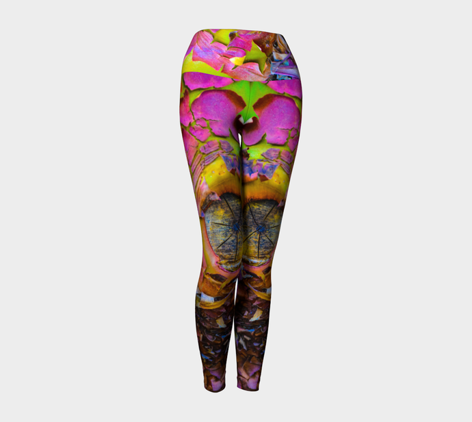 Arbutus Yoga Leggings designed by Engrooved Splash Productions located on the Sunshine Coast of British Columbia.